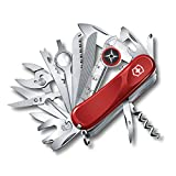 Victorinox Swiss Army Multi-Tool, Evolution S54 Toolchest Plus Pocket Knife, Red