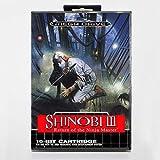 Aditi Shinobi 3 16 bit SEGA MD Game Card With Retail Box For Sega Mega Drive For Genesis
