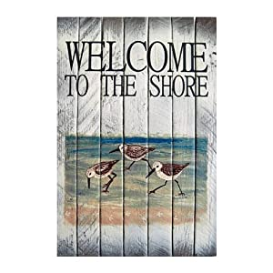 51zaebuyXOL._SS300_ Wooden Beach Signs & Coastal Wood Signs