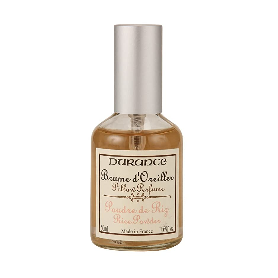 オプショナルスムーズに植木Durance [ デュランス ] Pillow Perfume ピローミスト Rice Powder ライス パウダー 42530 ピローフレグランス 防ダニ [並行輸入品]