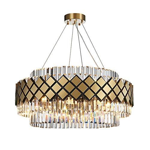 no-branded Sygjal Lámpara LED de luz Caliente E14 * 12 Bronce araña de Cristal Principal Personalizada Art 60 * 60 * 35cm