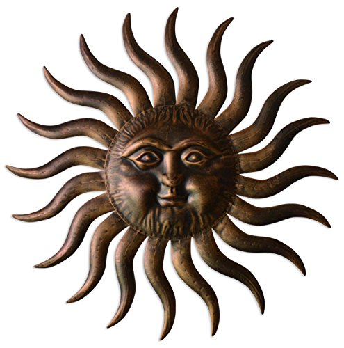 Comfy Hour 31' Sun Face Wall Decor