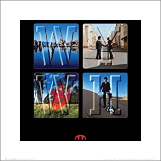Pink Floyd Wish You Were Here Album Art Psychedelic Classic Rock Music Poster Print 16 by 16