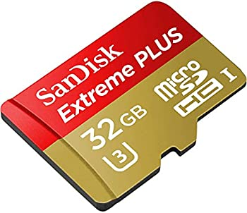 Sandisk 32GB Extreme Plus microSDHC UHS-I/U3 Memory Card with Adapter