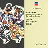 Tchaikovsky: Symphonies 2 & 5 / Russian Orchestral by SIR GEORG SOLTI