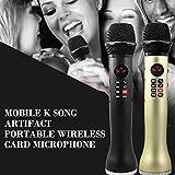 EmNarsissus 9W Funkmikrofon Y-118 Hand-Karaoke-Lautsprecher...