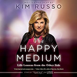The Happy Medium audiobook cover art