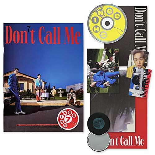 SHINEE The 7th Album - Don't Call Me [FAKE REALITY VER.] CD...