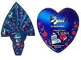 OFFERTA PASQUA 2018- uova al cioccolato PERUGINA EMMA MARRONE con sorpresa + scatola BACI PERUGINA EMMA MARRONE autografi d'amore con baci all'interno
