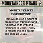Mustache Wax by Mountaineer Brand (2oz)   All-Natural Beeswax and Plant-Based Oils for Moustache   No Petroleum… 6