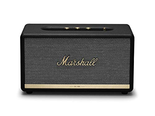 Marshall Stanmore II Wireless Bluetooth Speaker - Black (Renewed)