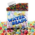 UMIKU Water Beads 50000 Soft Beads Rainbow Mix Water Growing Balls for Kids Tactile Sensory Toys Home Décor by UMIKU