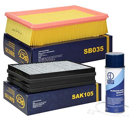 Inspektionspaket Wartungspaket Filterset Filtersatz 1 x Luftfilter 1 x Innenraumfilter mit Aktivkohle