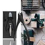Gentleman's Choice Nail Clippers KOOKTOOL Nail Cutter Set, All Black Carbon Steel Made, for Ingrown Fingernail & Toenail… 8
