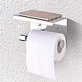 East buy-Tissue Holder-Tissue Holder zur Wandmontage, SUS304 Toilettenpapierhalter aus Edelstahl