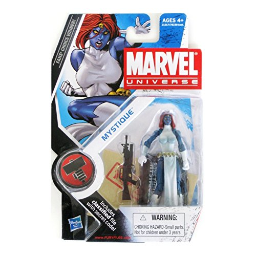 Marvel Universe 3 3/4 Inch Series 10 Action Figure Mystique