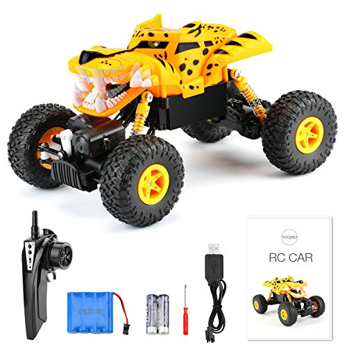 TOQIBO RC Cars Remote Control Car 2.4Ghz 4WD Off...