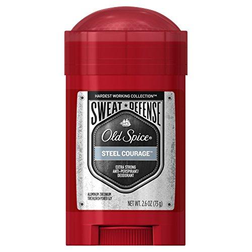 Old Spice Hardest Working Collection Sweat Defense Steel Courage Antiperspirant & Deodorant - 2.6oz
