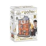 World Brands Tienda de Articulos de Broma Weasley's de Harry Potter, Cubic Fun, puzle, rompecabezas, maquetas para montar, puzzles 3D, kit de construcción, multicolor DS1007H