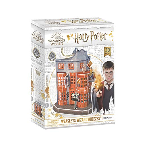 World Brands DS1007H Broma Weasley's Harry Potter, Cubic Fun 3D-Puzzle, Modellbau, Baukasten