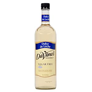 Da Vinci Sugar Free Dulce De Leche Gourmet Syrup, 750ml