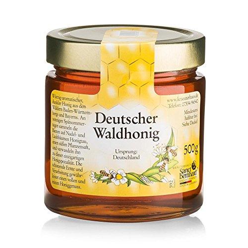 Sanct Bernhard Deutscher Waldhonig würzig-aromatischer, dunkl...