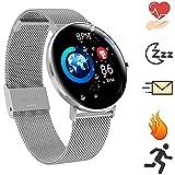 Bluetooth Smartwatch Deportes al Aire Libre Reloj Inteligente Pantalla táctil a Prueba de Agua...