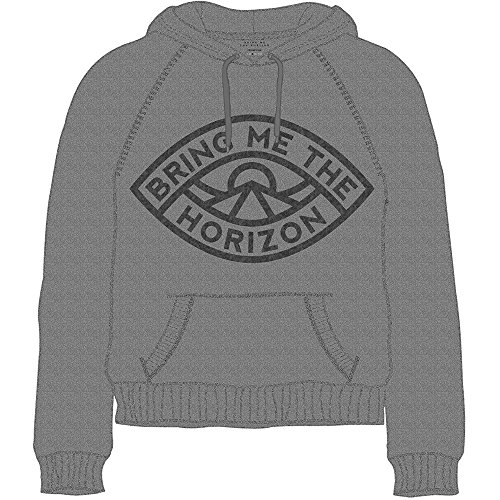 Bring Me The Horizon Herren Eye Sweatshirt, grau, Medium