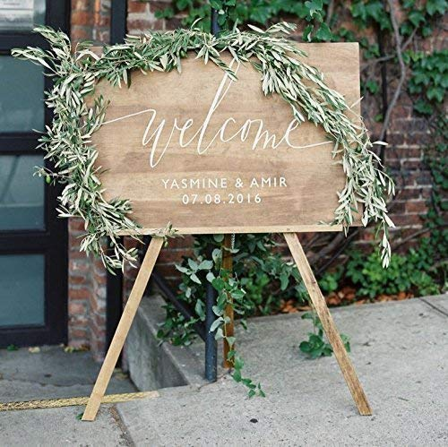Wood Wedding Welcome Sign   Welcome Wedding Sign   Wooden Welcome Sign   Wedding Welcome Sign