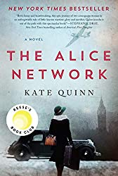 "The book cover of ""The Alice Network"" by Kate Quinn."