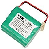 HQRP 2200mAh Battery Works with iRobot Mint 4200, Mint 4205, Braava 320, Braava 321, 4408927 Automatic GPHC152M07 Ultra High Capacity [Robotic Vacuum Cleaner]
