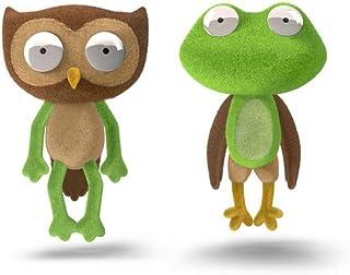 Chimeras Mix 'n' Match Plush Toys Frog & Owl Stuffed Animals with Interchangeable Parts - Plush Mr. Potato Head