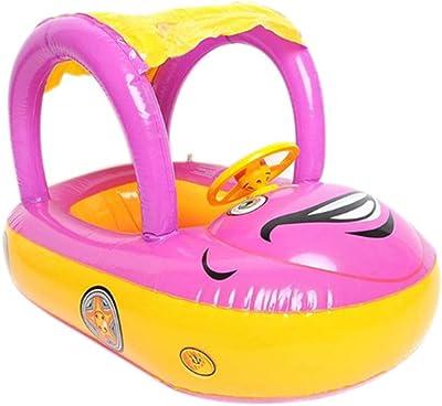 Turefans Flotador para bebé,Barca bebé de Piscina (B)