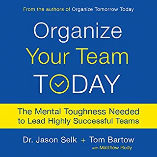 Organize Your Team Today audiobook cover art