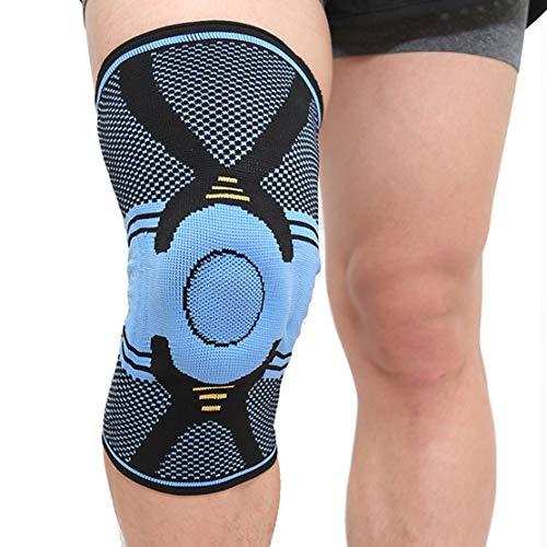 HiXB Rodillera Rodillera Rodilleras Individuales Soporte estabilizador Ajustable para torceduras agudas Daño de ligamento Ayuda de recuperación