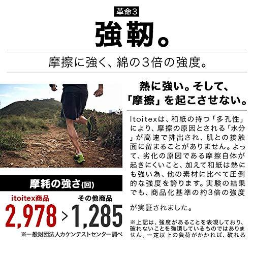 Itoix(イトイエックス)『ランニングソックスラウンドショート』