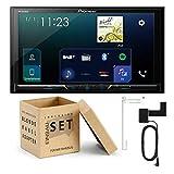 Pioneer SPH-DA230DAB 2-DIN DAB-Mediacenter kompatibel mit Apple CarPlay Waze Spotify passend für Toyota Yaris 2006-2011 schwarz ohne OEM-Navi