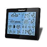 EXCELVAN Estación Meteorológica con Función Previsión de Precisión, Temperatura,...