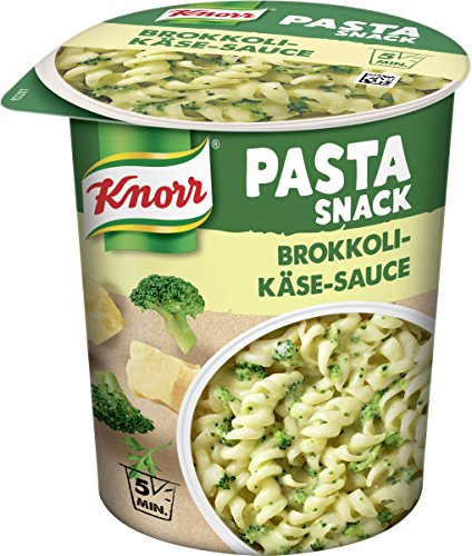Knorr Pasta Snack Brokkoli-Käse-Sauce, 1 Portion