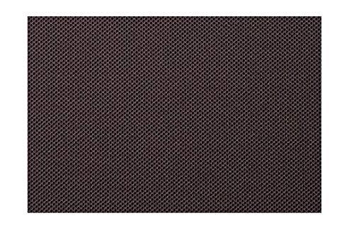 Tela acústica de 70 x 140 cm, con nido de abeja, elástica, revestimiento de altavoces Hi-Fi, tela supercoche (antracita)