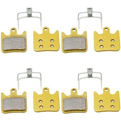 Lot de 4 paires de Hope Tech x2 Disque fritté plaquettes de frein, compatible techx2 hopex2 DH XC