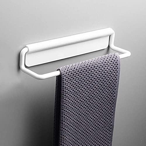 JYSXAD Toallero para baños Toallero de plástico Autoadhesivo Estante de baño Estante de Almacenamiento Zapatero Montaje en Pared Toallero Colgador pequeños Accesorios