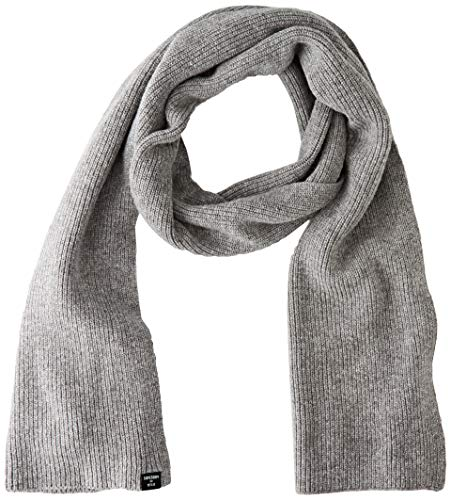 Superdry Womens Heritage Ribbed Fashion Scarf, Light Grey Marl, Einheitsgröße