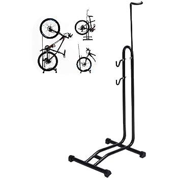 KJRJKX 3-en-1 Planta de bicicletas caballete Rack, Vertical ...