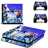 XIANYING Crash Team Racing Nitro Fueled Ctr Ps4 Skin Sticker Decal per Console e 2 Controller Ps4 Skin Vinyl Stickers