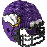Minnesota Vikings NFL 3D BRXLZ Construction Toy Blocks Set - Helmet