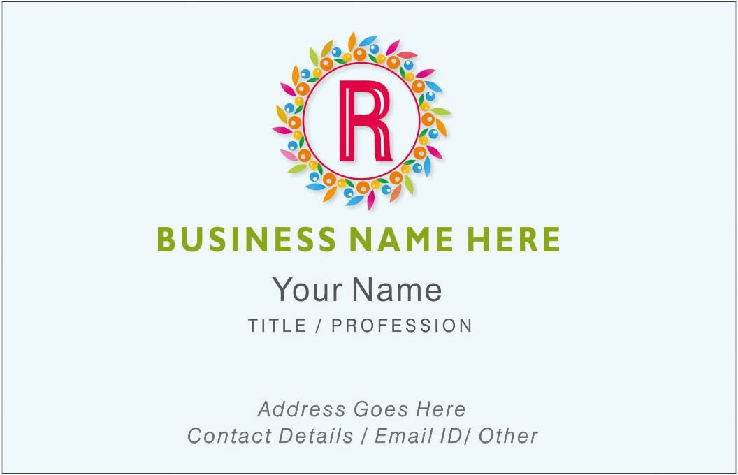 Max 74% Max 83% OFF OFF Design Your Own Personalised Business Cards Comp Custom Employee