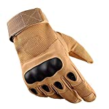 PROBEROS Adult's Tactical Operator Military Pro Anti-Skid Full Finger Gloves for Outdoor Cycling