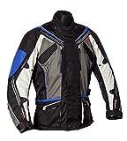 ROLEFF RACEWEAR Giacca Moto Torino, Blu, XXXL