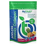 BioTRUST Ageless Beauty Collagen, Grass-Fed Collagen Peptides, Beauty Support Nutrients, Fruit Punch Flavor, Paleo and Keto Friendly (20 Servings)
